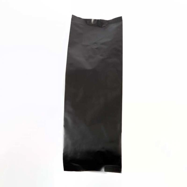 Matt Black Coffee Pouch with Valve